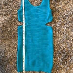 bebe Dresses - Bebe Aqua Blue Body Con Dress 👗